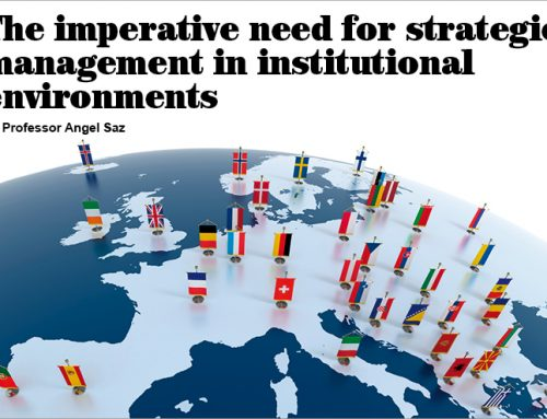 The imperative need for strategic management in institutional environments