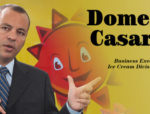 Domenico Casaretto (MBA 18), Business Executive Manager od Ice Cream Division at Nestlé Peru