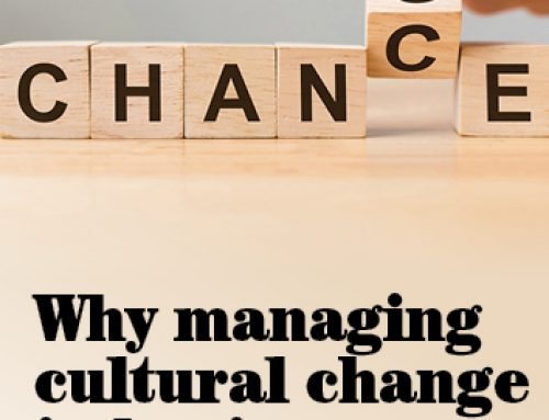 Why managing cultural change in businesses matters