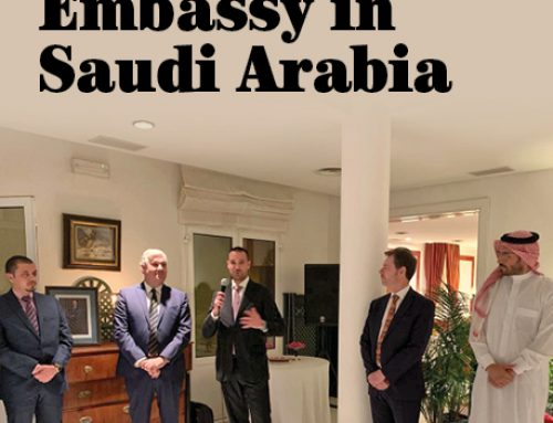 Reception at the Spanish Embassy in Saudi Arabia