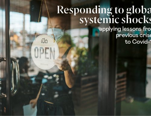 Responding to global systemic shocks: applying lessons from previous crises to Covid-19