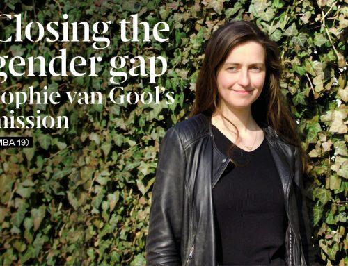 Closing the gender gap, Sophie van Gool's mission (MBA 19)